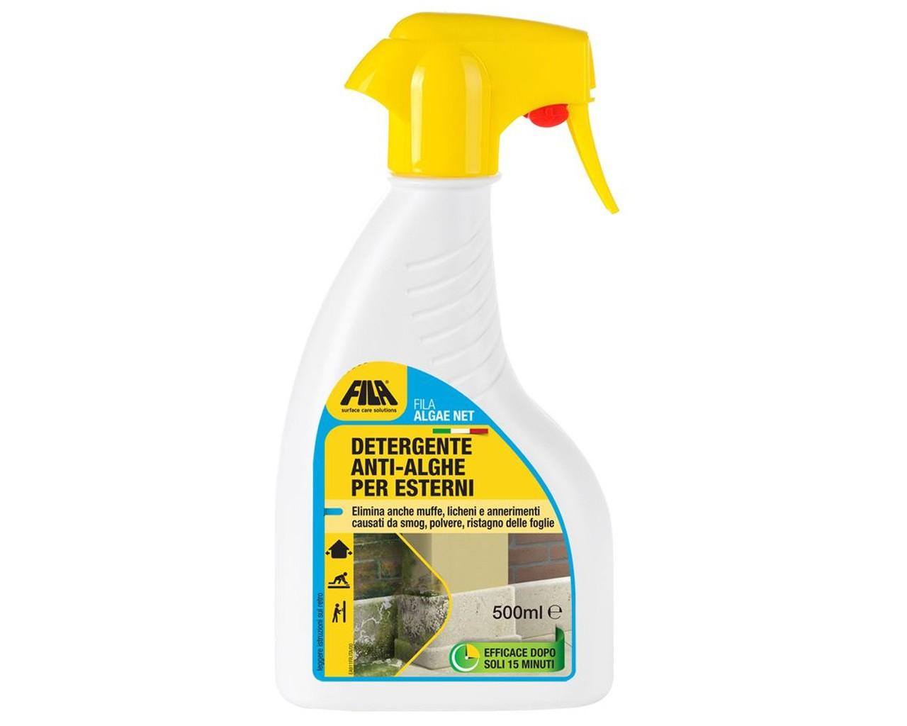 Detergente Per Cotto Esterno fila detergente antialghe per esterni filaalgae net ml.500