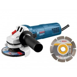 BOSCH SMERIGLIATRICE MM.115 750W GWS 750 CON DISCO DIAMANTATO MM.115