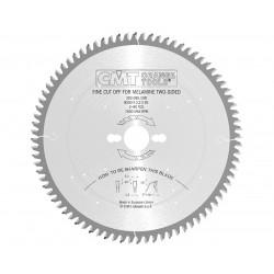 CMT LAMA CIRCOLARE PER MELAMINICI D.300 F.30 DENTI 96