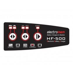 ELECTROMEM CARICABATTERIE CON FUNZIONE DI MANTENIMENTO HF500