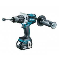 MAKITA AVVITATORE A PERCUSSIONE 18V 5,0AH LITIO 3 BATTERIE DHP481RT3J