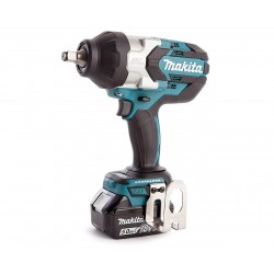 MAKITA AVVITATORE AD IMPULSI 1/2'' 18V 5,0AH LITIO 1000NM DTW1002RTJ