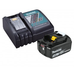MAKITA KIT ENERGY BATTERIA 18V 3,0AH LITIO E CARICABATTERIE DC18RC    191A24-4