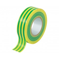 NASTRO ISOLANTE MM.15 MT.10 GIALLO-VERDE