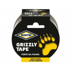 NASTRO TELATO BOSTIK GRIZZLY TAPE GRIGIO MM.50 MT.10