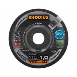 RHODIUS DISCO ABRASIVO 115X1,5 PER ALLUMINIO     XT24
