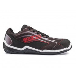 SPARCO SCARPA ANTINFORTUNISTICA TOURING LOW S1P NERA-ROSSA