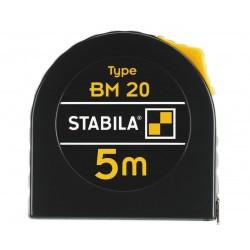 STABILA FLESSOMETRO ACCIAIO BM 20 MT.5 MM.19